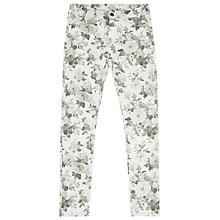 Buy Reiss Farrah Floral Print Jeans, Grey Print Online at johnlewis.com