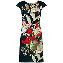 Buy Ted Baker Harleem Fortys Bloom Tunic, Black Online at johnlewis.com