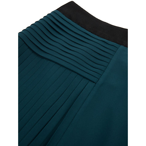 Buy Ted Baker Susaa  Panelled Maxi Skirt, Dark Green Online at johnlewis.com