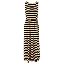 Buy Oasis Stripe Maxi Dress,Multi Natural Online at johnlewis.com