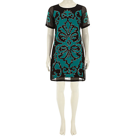 Buy Rise Ava Dress, Black Online at johnlewis.com