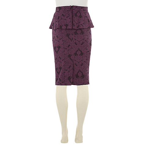 Buy Rise Dawn Skirt, Wine Online at johnlewis.com