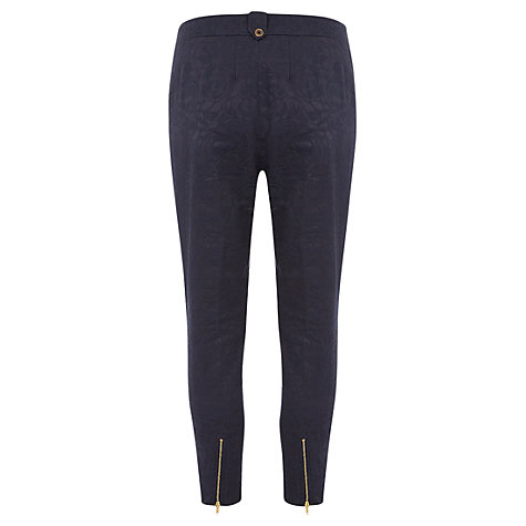 Buy Rise Linda Trouser, Navy Online at johnlewis.com