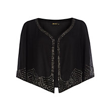 Buy Rise Queenie Shrug, Black Online at johnlewis.com