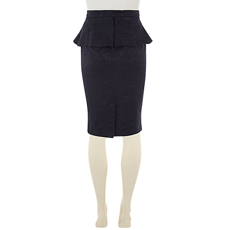 Buy Rise Jinni Skirt, Navy Online at johnlewis.com