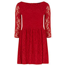 Buy Rise Allie Dress, Red Online at johnlewis.com