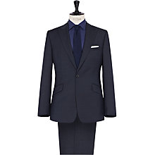 Buy Reiss Simmerson Micro Texture Suit, Navy Online at johnlewis.com