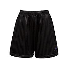 Buy Alderbrook Senior School Unisex Shorts, Black Online at johnlewis.com