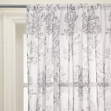 Buy John Lewis Ambleside Voile Panel, Grey Online at johnlewis.com