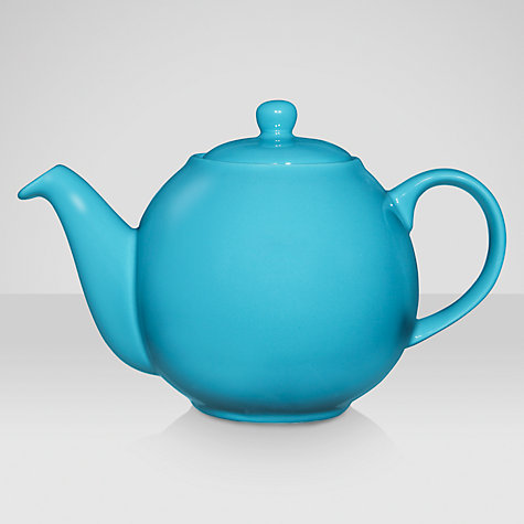 Buy London Pottery Bali Teapot, Blue Online at johnlewis.com