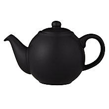 Buy London Pottery Bali Teapot, 0.6L, Black Online at johnlewis.com