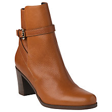Buy L.K. Bennett Dionne Ankle Boots, Tan Online at johnlewis.com
