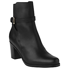 Buy L.K. Bennett Dionne Ankle Boots, Black Online at johnlewis.com