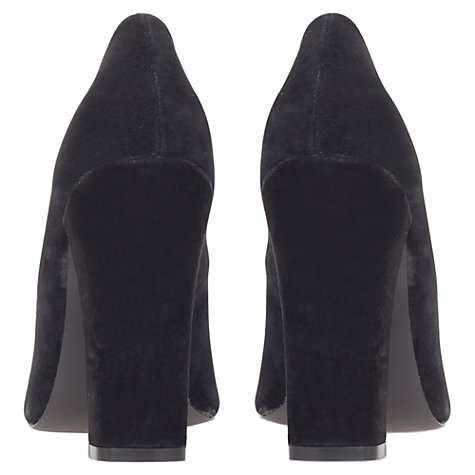Buy KG by Kurt Geiger Calista Court Shoes, Black Online at johnlewis.com