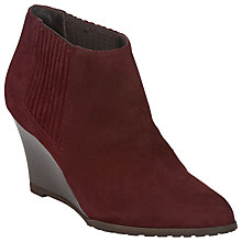 Buy L.K. Bennett Nora Wedged Ankle Boots Online at johnlewis.com