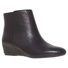 Buy Nine West Metalina Wedged Ankle Boots Online at johnlewis.com