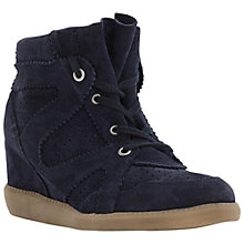 Buy Bertie Pamelia High-Top Wedge Trainers Online at johnlewis.com