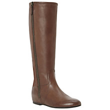 Buy Bertie Triton Leather Knee Boots Online at johnlewis.com
