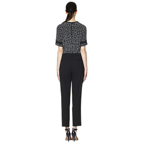 Buy Whistles Nelly Tailored Trousers, Black Online at johnlewis.com