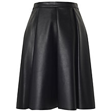 Buy Whistles Bailey Skater Skirt, Black Online at johnlewis.com