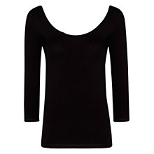Buy Mango Scoop Neckline T-Shirt Online at johnlewis.com