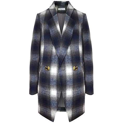 Buy Paisie Double Breasted Tartan Jacket, Multi Online at johnlewis.com
