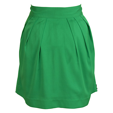 Buy Whistle & Wolf Lace Skirt, Green/Black Online at johnlewis.com