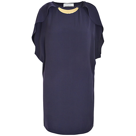 Buy Paisie Tulip Sleeve Dress, Navy Online at johnlewis.com