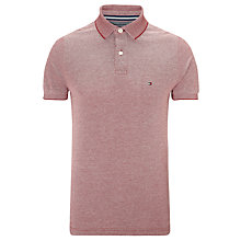 Buy Tommy Hilfiger Maddock Polo Shirt, Persian Red Online at johnlewis.com