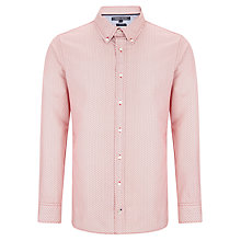 Buy Tommy Hilfiger Triple Dot Shirt, Formula One/ Bright White Online at johnlewis.com