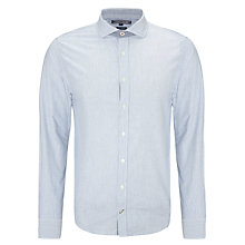 Buy Tommy Hilfiger Wyatt Striped Shirt, Navy Blazer/ Bright White Online at johnlewis.com