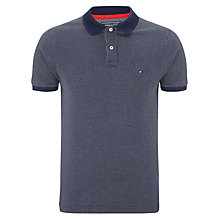 Buy Tommy Hilfiger Regular Fit Short Sleeve Polo Shirt, Navy Online at johnlewis.com