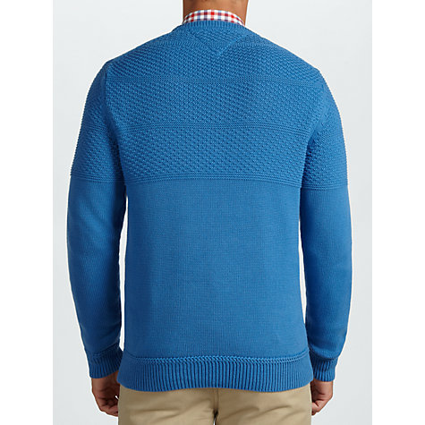 Buy Tommy Hilfiger Crew Neck Cotton Jumper Online at johnlewis.com
