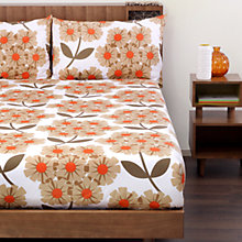 Buy Orla Kiely Rhododendron Bedding, Rose Online at johnlewis.com