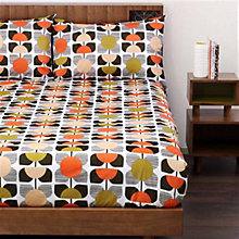 Buy Orla Kiely Square Flower Bedding Online at johnlewis.com