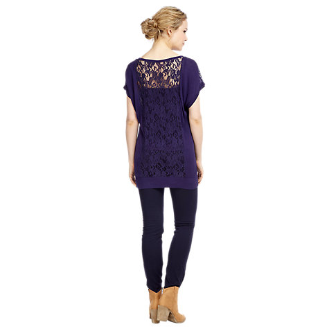 Buy Kaliko Lace Jumper, Blue Online at johnlewis.com