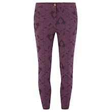Buy Rise Taylor Trouser, Wine Online at johnlewis.com