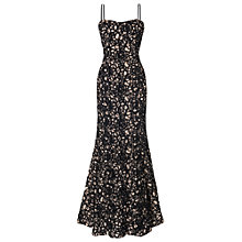 Buy Phase Eight Collection 8 Charlotte Dress, Black/Nude Online at johnlewis.com