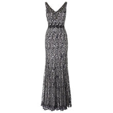Buy Phase Eight Collection 8 Cosette Dress, Charcoal Online at johnlewis.com
