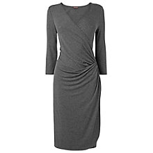 Buy Phase Eight Ethel 3/4 Sleeve Dress, Grey Marl Online at johnlewis.com