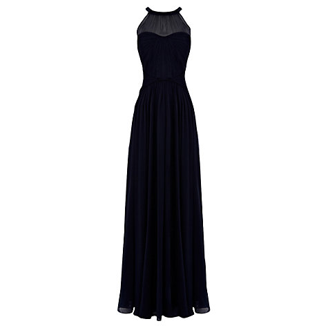 Buy Coast Shania Maxi Dress, Navy Online at johnlewis.com