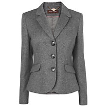 Buy Phase Eight Imogen Riding Jacket, Grey Online at johnlewis.com