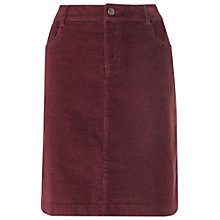 Buy Phase Eight Carly Corduroy Skirt, Red Online at johnlewis.com