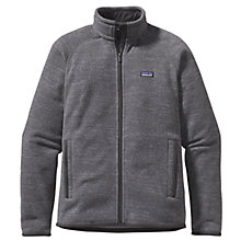 Buy Patagonia Insulated Better Sweater™ Fleece Jacket, Nickel Grey Online at johnlewis.com