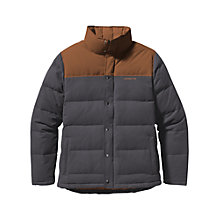 Buy Patagonia Quilted Bivy Down Jacket, Forge Grey Online at johnlewis.com