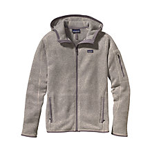 Buy Patagonia Better Hooded Full-Zip Fleece, Grey Online at johnlewis.com