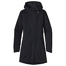 Buy Patagonia Arborist Trench Coat, Black Online at johnlewis.com