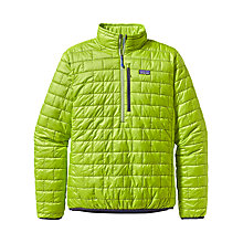 Buy Patagonia Nano Puff Pullover, Light Green Online at johnlewis.com