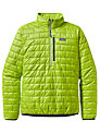 Patagonia Nano Puff Pullover, Light Green