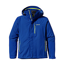 Buy Patagonia Waterproof Piolet Jacket, Viking Blue Online at johnlewis.com